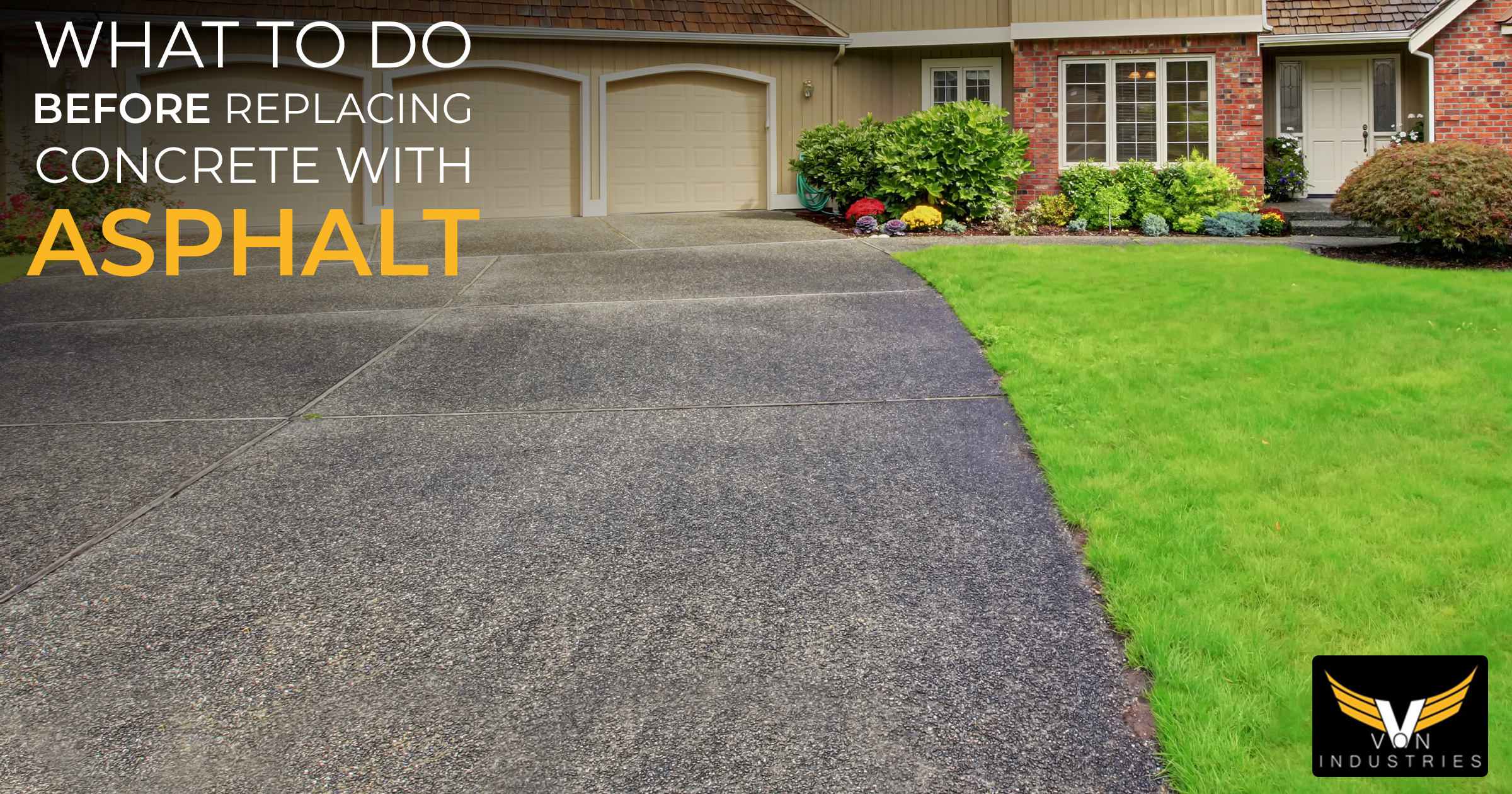 Why It's Better To Remove A Concrete Driveway Before Laying ...